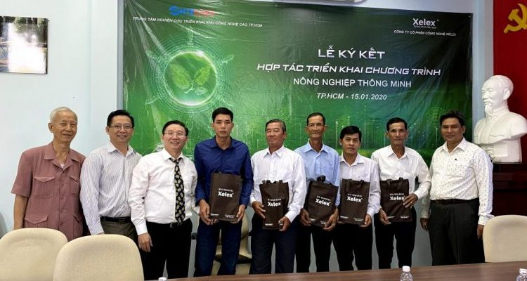 SIGNING PARTNERSHIP COOPERATION WITH THE HIGH-TECH RESEARCH CENTER (SHTPLabs) INTRODUCING SMART AGRICULTURAL PROGRAM