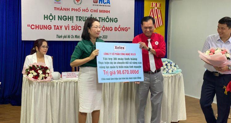Tài Trợ 30 Máy Tính Bảng Cho Hội Chữ Thập đỏ Thành Phố Hồ Chí Minh